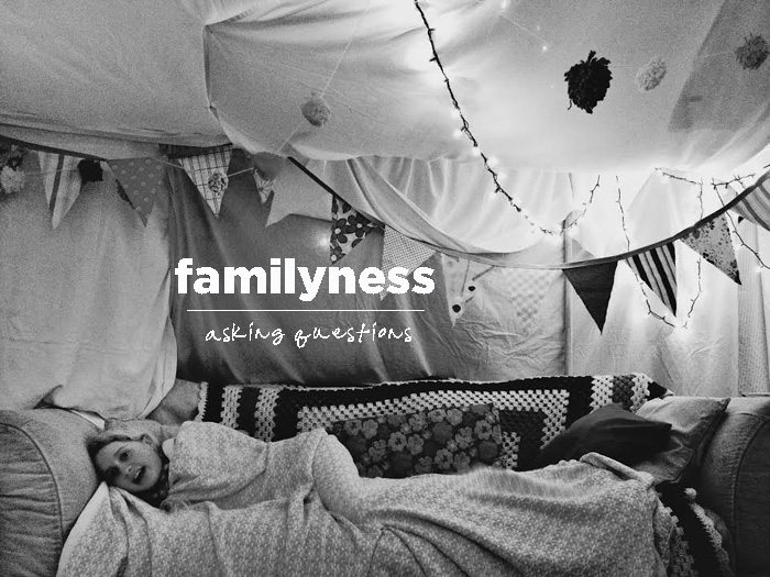 Be part of the Familyness Fort!  Click the photo above!